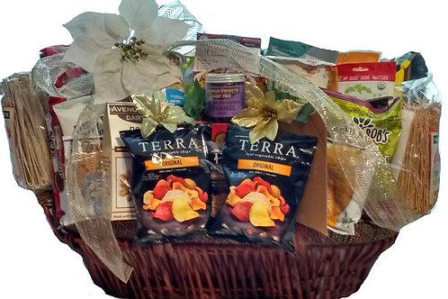 Vegan gluten free extra large gourmet gift basket