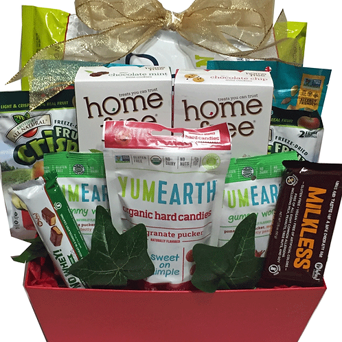 severe allergy gift basket