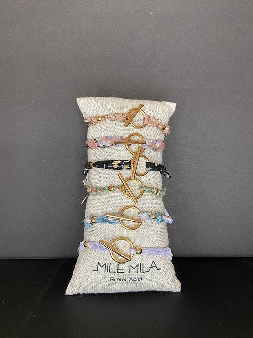 Bracelet avec fermoir or