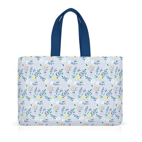 """Sac lunch bag isotherme """"Liberty bleu"""""""