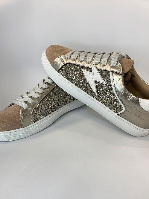 Chaussures avec éclair