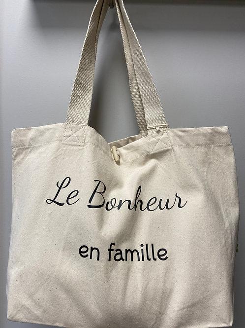 """Sac """"Le bonheur en famille"""""""