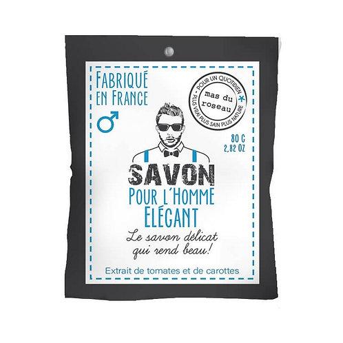 SAVON POUR HOMME ÉLÉGANT