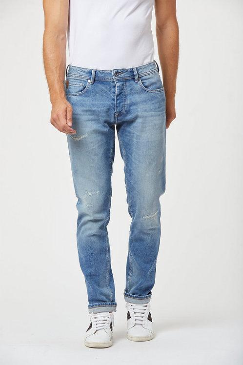 Jeans LC020 Lightblue Repaired
