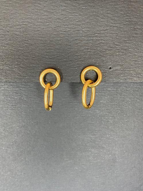 Boucles d'oreilles avec boucle