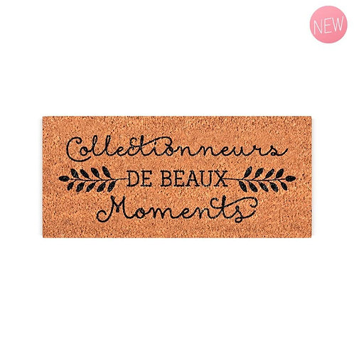Paillasson : Collectionneurs de beaux moments