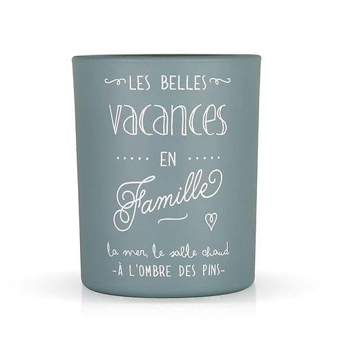 """Bougie """"Les Belles Vacances"""""""