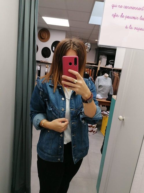 Veste en Jeans Loose
