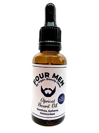 Bartöl für Männer / Aprikose / Natürlich / Bio / Vegan / 30ml