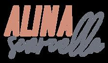 Alina Pink:Grey Logo.png