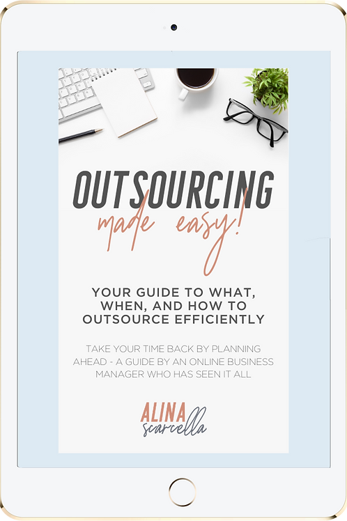 Outsourcing Made Easy Workbook