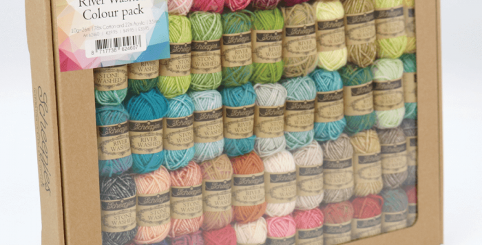 Scheepjes Stone Washed-River Washed Colour Pack