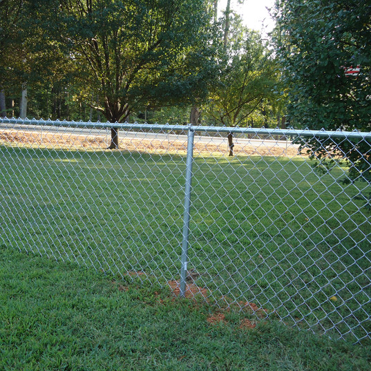 Galvanized Chain Link Fence 4ft