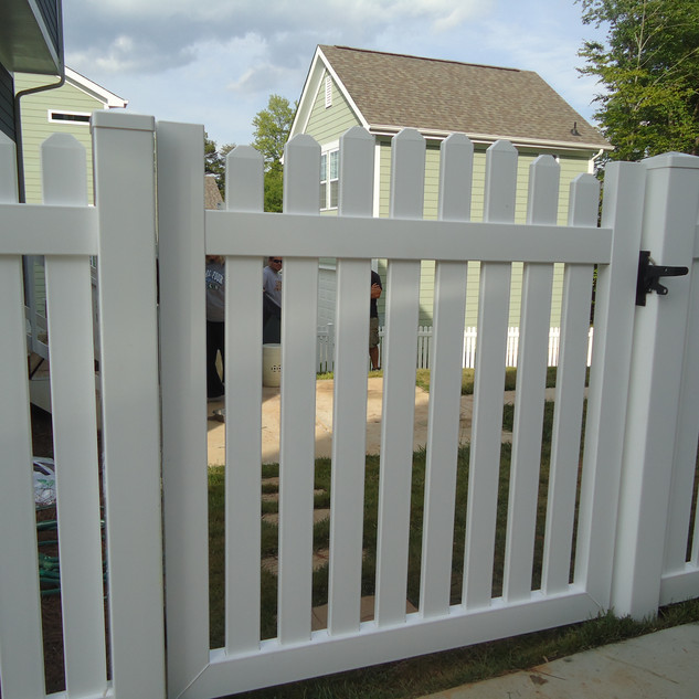 Style 3C  with Arched Gate