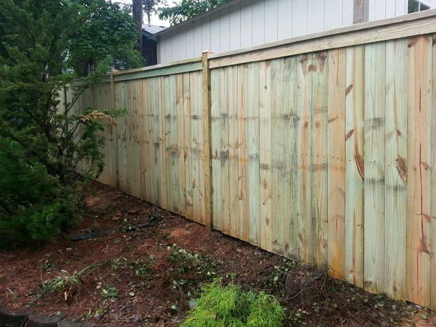 Custom Board on Board Fence
