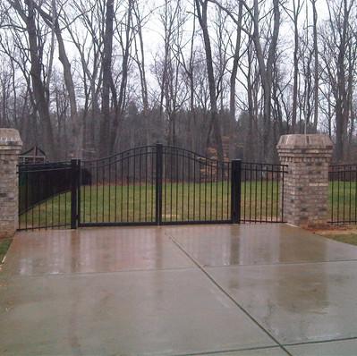 Estate Style Double Gate