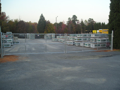 Commerical Chain Link Gate
