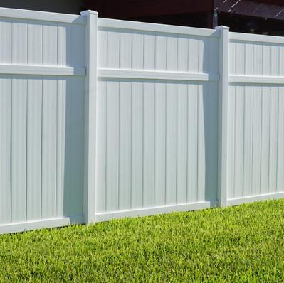Custom Vinyl Fence
