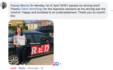 Tracy Driving Test