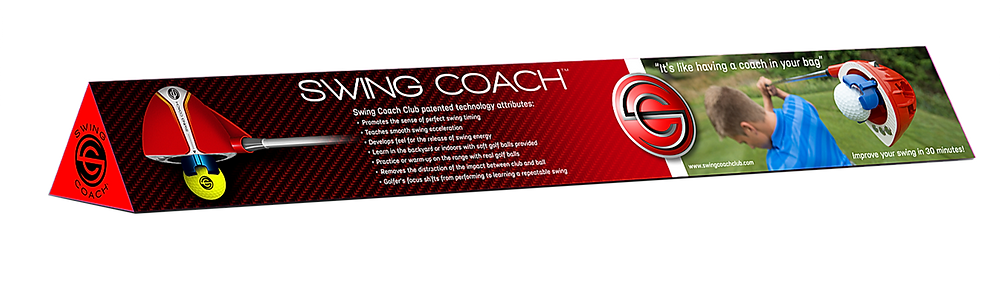 Swing Coach Club package design