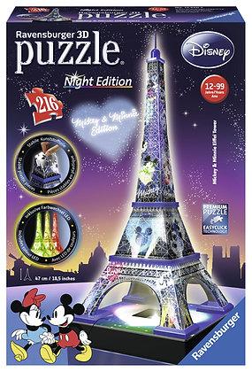 Torre Eiffel de NOCHE (Mickey&Minnie)