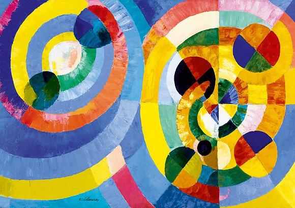 Robert Delaunay, formas circulares, 1930