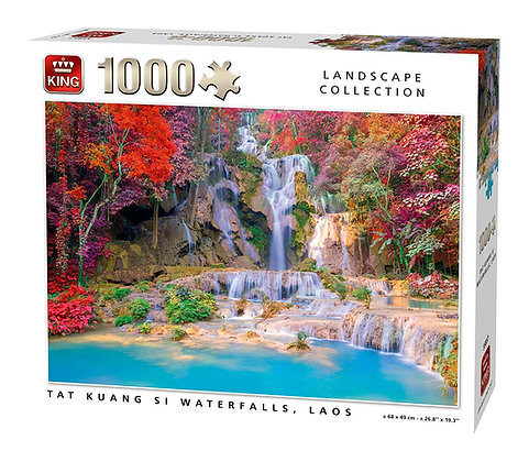 Tat Kuang si Waterfalls, Laos