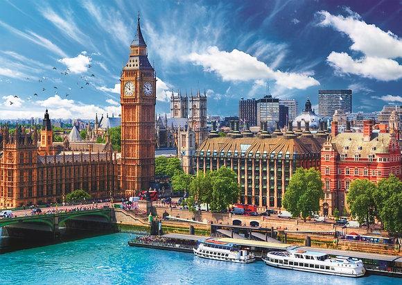Día soleado en Londres