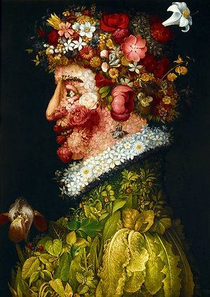 La Primavera, 1563, Arcimboldo