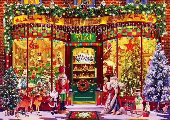 Tienda navideña