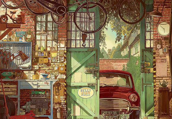 Old garage - Garaje antiguo