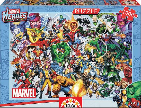Los héroes de Marvel