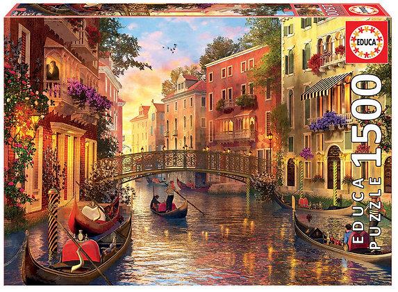 Aterdecer en Venecia