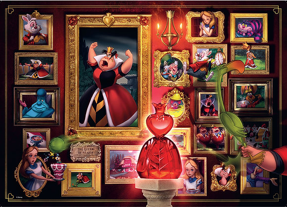 La reina de corazones, Villanos Disney
