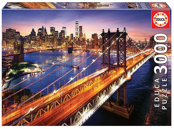 Manhattan al atardecer