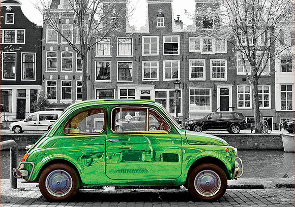 Coche en Ámsterdam
