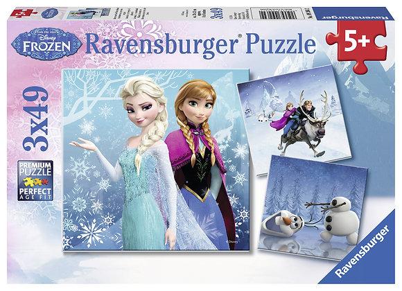 Frozen, aventuras en el reino de hielo