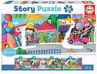 Vehículos (Story puzzle)