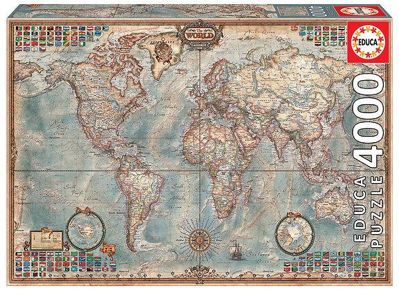 El mundo, mapa político