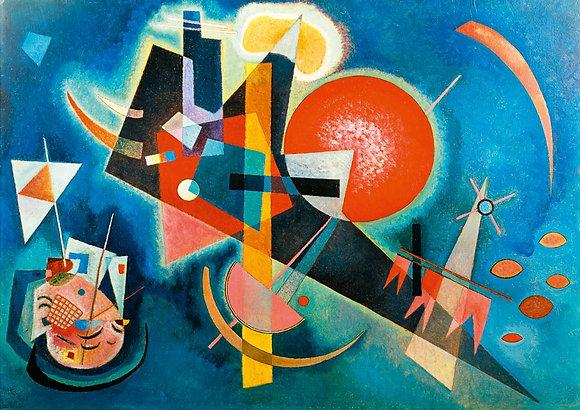 Kandinsky, en azul, 1925