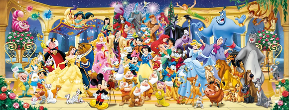 Disney, foto de grupo