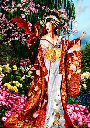 Reina de la seda