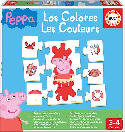 Los colores Peppa Pig