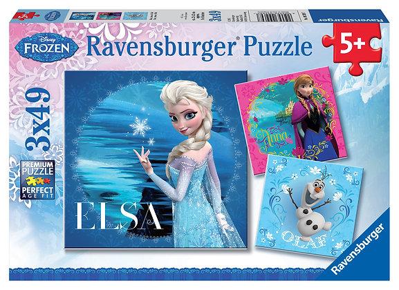 Frozen: Elsa, Ana y Olaf