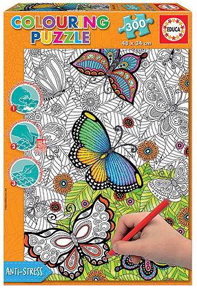 Mariposas (para colorear)