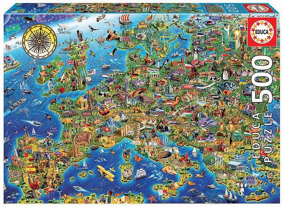 Mapa de Europa