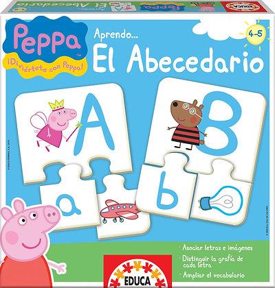 El abecedario Peppa Pig