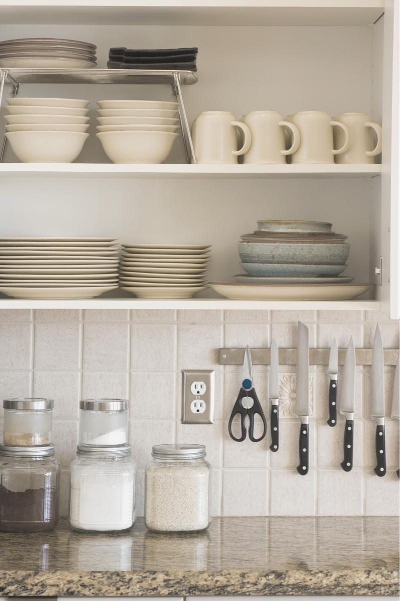 kitchen cabinet, organized kitchen, organization, get organized