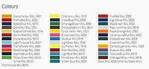 Vajda Colour Palette