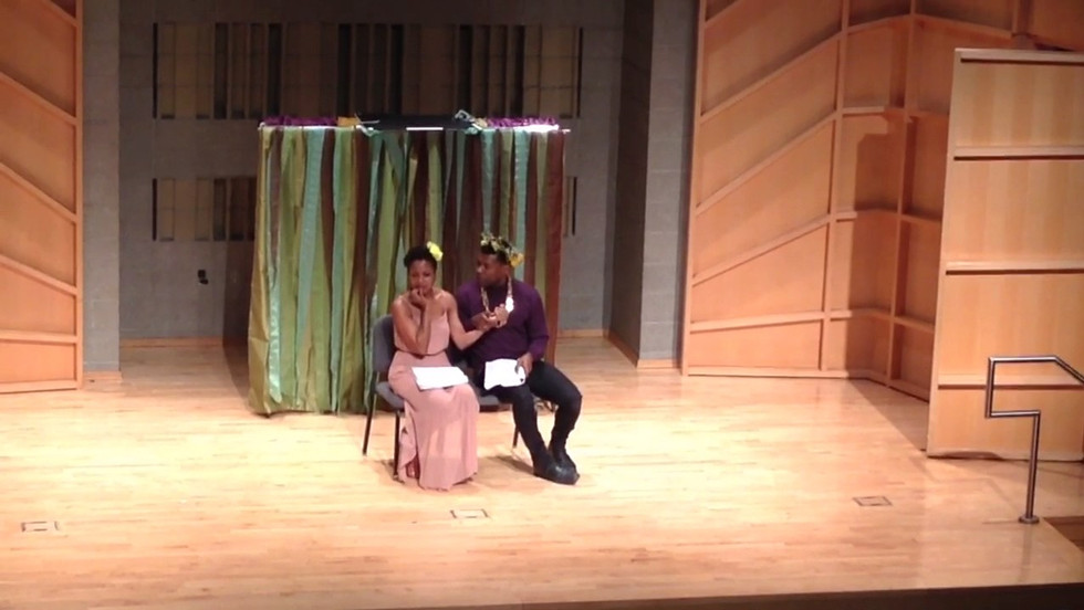 Scene from SHAKUNTALA AND THE RING OF RECOGNITION